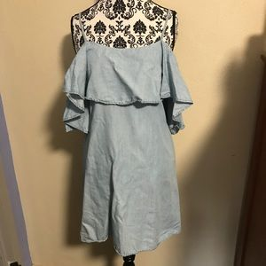 Romeo and Juliet Couture Chambray Tunic